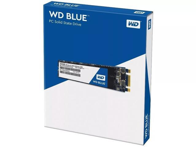 Imagem de SSD 500GB WD Blue M.2 Sata Nova Versão 3D Nand (M2 2280) - Modelo WDS500G2B0B