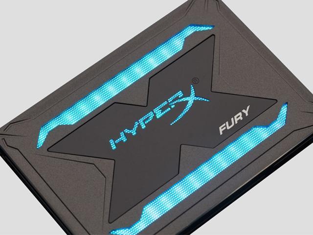 Imagem de Ssd Gamer Hyperx Shfr200/480g Fury 480gb 2.5 Rgb Sata Iii