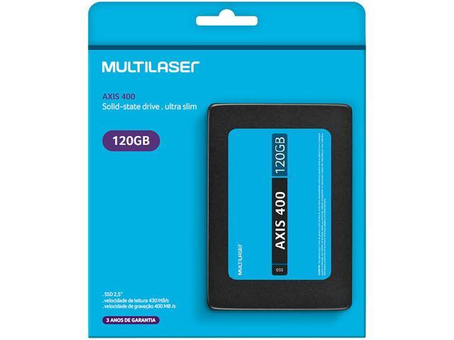 Imagem de SSD Portátil 120GB Multilaser