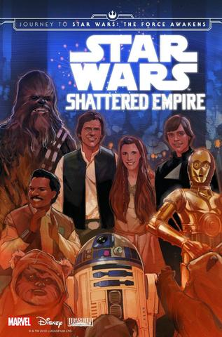 Imagem de Star Wars Journey To Star Wars - The Force Awakens  Shattered Empire