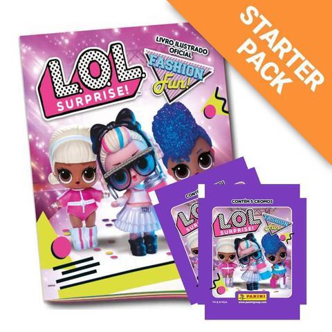 Imagem de Starter Pack LOL Surprise 3 - Fashion Fun! - Livro Ilustrado