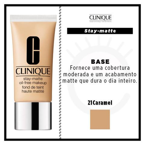 Imagem de Stay-Matte Oil-Free Makeup Clinique - Base Facial