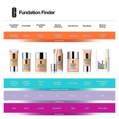 Imagem de Stay-Matte Oil-Free Makeup Clinique - Base Facial