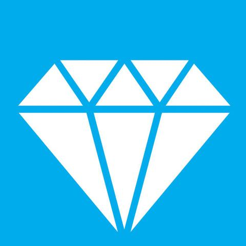 Imagem de Stencil Litocart 10x10 LSX-032 Diamante