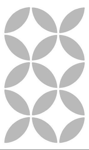 Imagem de Stencil Para Parede Pintura Sala Quarto Madeira Estêncil
