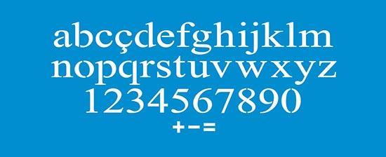 Imagem de Stencil Pintura Simples Alfabeto Minusculo 42X17 STG-052 - Litoarte
