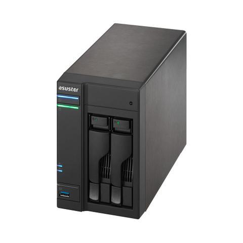 Imagem de Storage Nas Asustor As6302t 2 Baias Sem Hdd Cpu Intel Celeron J3355 Dual Core 2.0 Ghz 2 Gb Ram