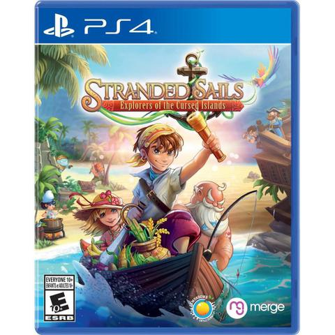 Jogo Stranded Sails: Explores Of The Cursed - Playstation 4 - Merge Games