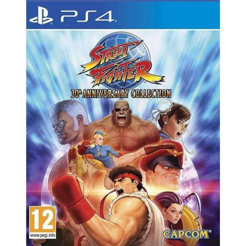 Imagem de Street Fighter 30Th Anniversary Collection - Ps4