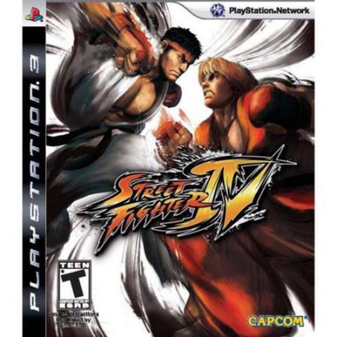 Jogo Street Fighter Iv - Playstation 3 - Capcom