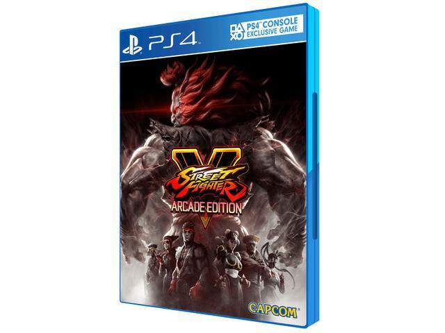 Imagem de Street Fighter V Arcade Edition para PS4