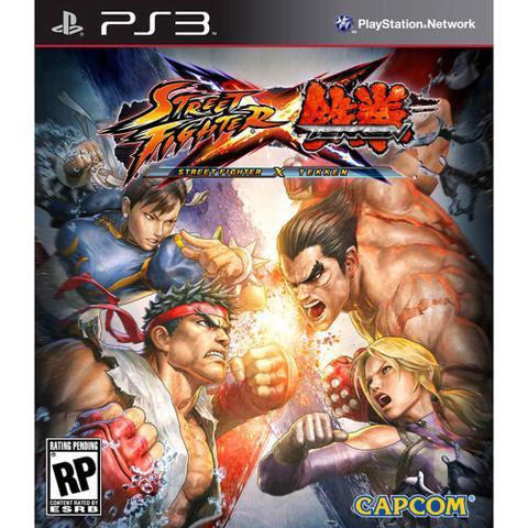 Jogo Street Fighter X Tekken - Playstation 3 - Capcom