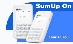 Imagem de Sumup On Máquina de Cartão com Chip