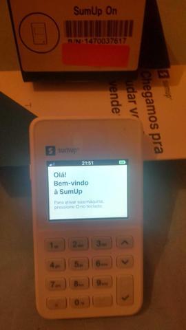 Imagem de SumUp On Maquininha De Cartão Wi-fi Chip 3G Não Precisa De Celular - CHIP DA VIVO