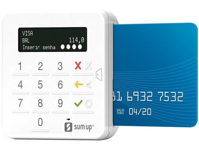 Imagem de SumUp Top A Maquininha de Cartão Sem Aluguel Débito e Crédito - Bluetooth