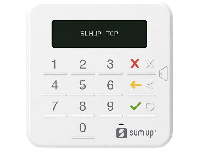Imagem de SumUp Top - Leitor de Cartão de Crédito Bluetooth Capa de Brinde