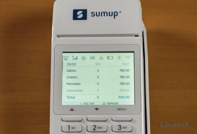 Imagem de SumUp Total A Maquininha De Cartão Sem Aluguel Recibo