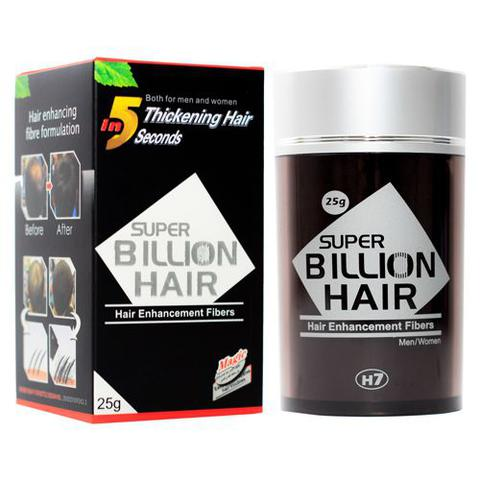 Imagem de Super Billion Hair - Disfarce para Calvície 25g