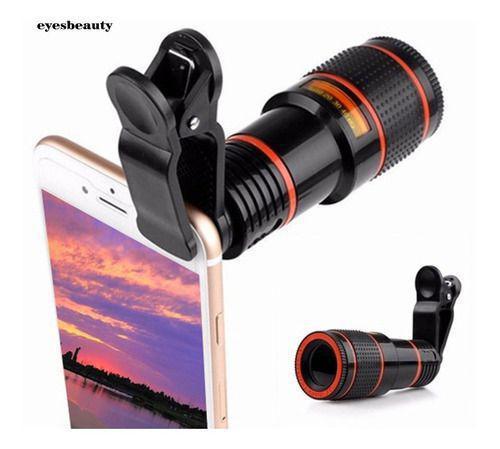 Imagem de Super Lente Luneta Telescópio P/ Celular Smartphone Zoom 8x