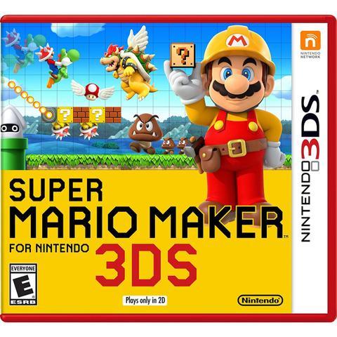 Imagem de Super Mario Maker - 3Ds