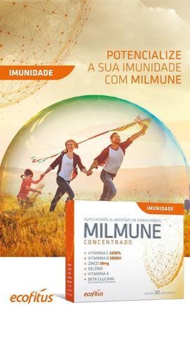 Imagem de Suplemento Para Aumentar a Imunidade Milmune Concentrado 30 Cápsulas - Ecofitus