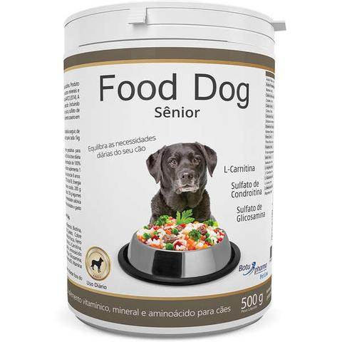 Imagem de Suplemento vitaminico food dog senior 500g validade 08/21