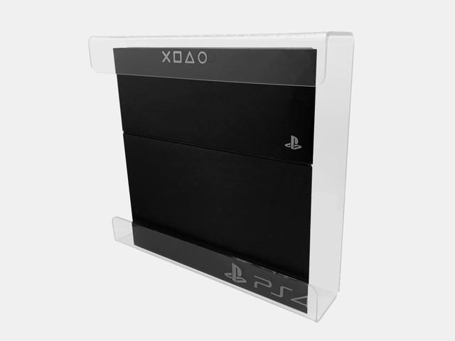 Imagem de Suporte Acrilico Playstation 4 - Modelo FAT - Cristal