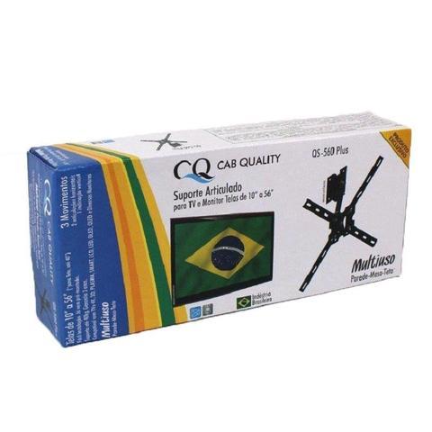 Imagem de Suporte Articulado Parede Teto Mesa 3 Movim Tv Led 4K Lcd Samsung Lg Sony 10 A 56
