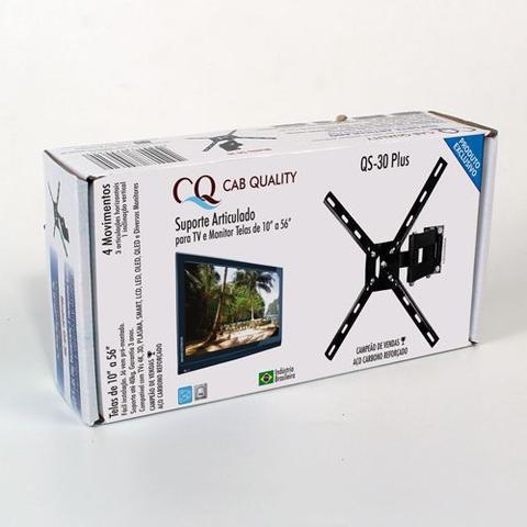 Imagem de Suporte Articulado TV 4 Movimentos Led 4k Smart 32 40 42 43 Aoc Philips Samsung LG Sony 10 Até 47