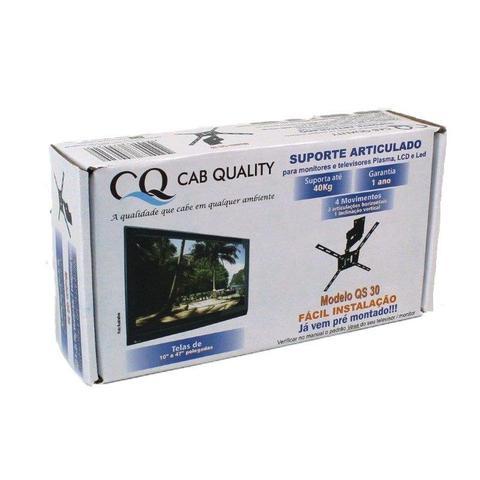 Imagem de Suporte Articulado TV 4 Movimentos Led Smart 4k LCD Monitor 32 40 42 43 Samsung LG Sony 10 Até 47
