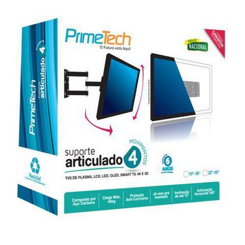 Imagem de Suporte Articulado TV 4 Movimentos Led Smart 4k Monitor 32 40 47 48 50 55 Samsung LG Sony 10 Até 65