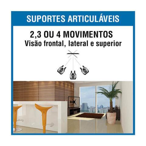 Imagem de Suporte Articulado TV LED LCD Plasma 3D Smart TV 10 a 55 Polegadas Brasforma SBRP130
