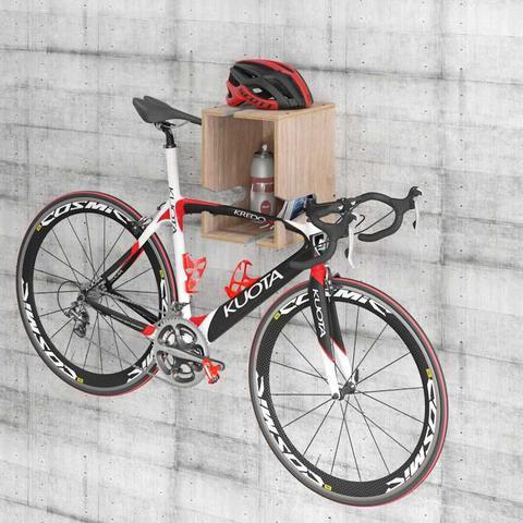 Imagem de Suporte Bike Nicho Multifuncional Compensado Naval Easy BE Móveis 85caf37eab