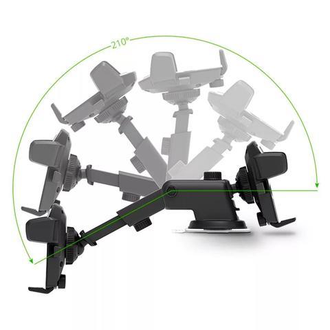 Imagem de Suporte Celular Gps Carro Veicular Sp-72 Trava Automática