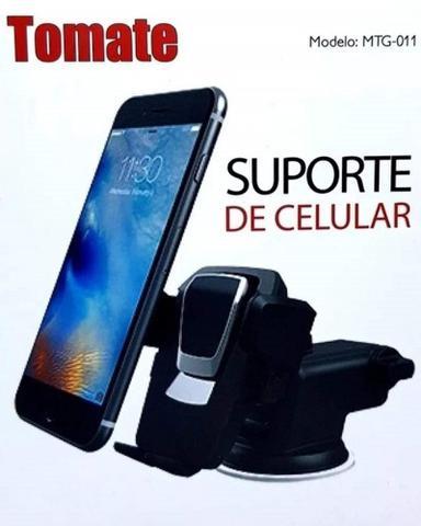 Imagem de Suporte Celular GPS Carro Veicular  Trava  Automática MTG-011