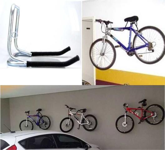 Imagem de Suporte De Bicicleta bike P/ Parede - Dobrável
