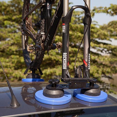 Imagem de Suporte de bicicleta para teto com ventosa 3hm leva bike