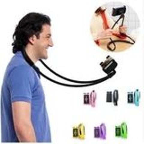 Imagem de Suporte de Celular Flexível Articulado para Pescoço