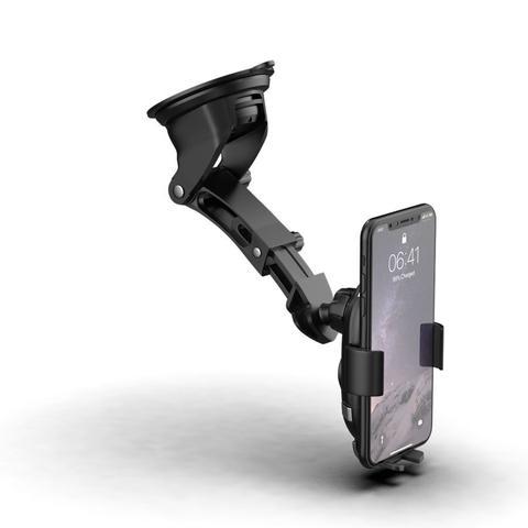 Imagem de Suporte de Celular Veicular com carregamento sem fio FT Charger