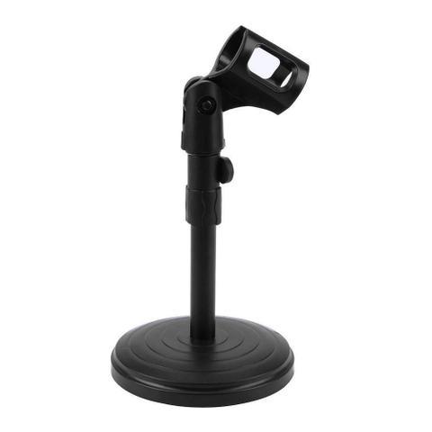 Imagem de Suporte De Mesa Para Microfone Mini Pedestal Portátil