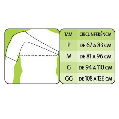 Imagem de Suporte de Ombros Órtese para Úmero Mercur em Neoprene  P