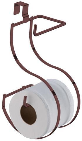 Imagem de Suporte De Papel Higiênico Duplo Para Caixa Acoplada-Bronze 1096BZ Aramados Future