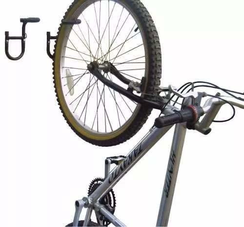 f0066fccb Suporte De Parede Estilo Gancho Para 1 Bicicleta - Metal-lini ...