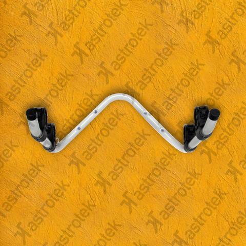 Imagem de Suporte de Parede Organizador Metal-lini Para 2 Bicicletas