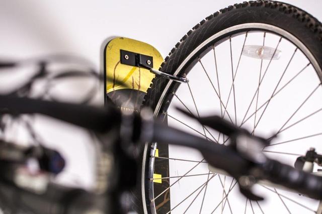 Imagem de Suporte de parede para bicicleta slim black