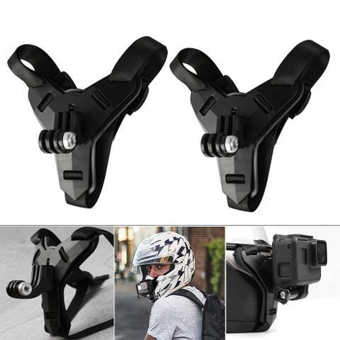 Imagem de Suporte de queixo p/ capacete de Moto- GoPro e similares