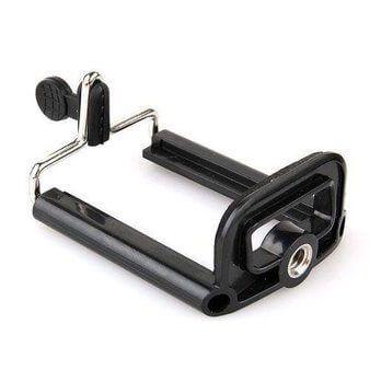 Imagem de Suporte de SmartPhone para Tripé e Bastão Extensor - iPhone / Samsung / Nokia / LG / Motorola / Sony