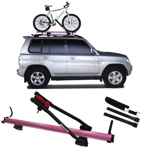 Imagem de Suporte De Teto Para Bicicleta Transbike Eqmax Velox Rosa