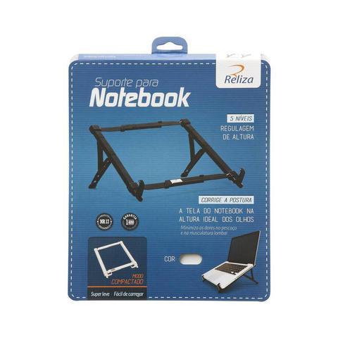 Imagem de Suporte Ergonomico Regulável NR17 para Notebook Reliza 0026 Branco