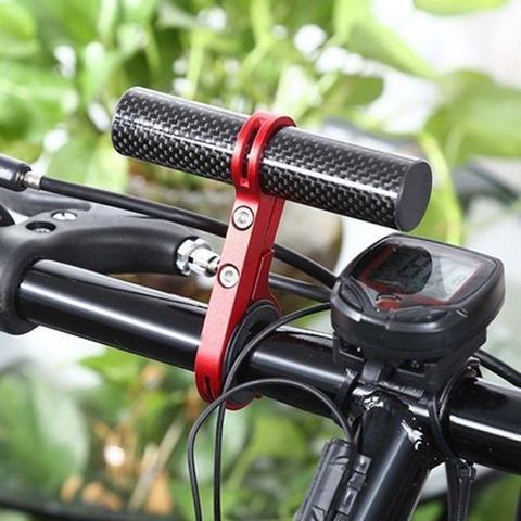 Imagem de Suporte Extensor Guidão 10,2cm Deemount Bike Vermelho